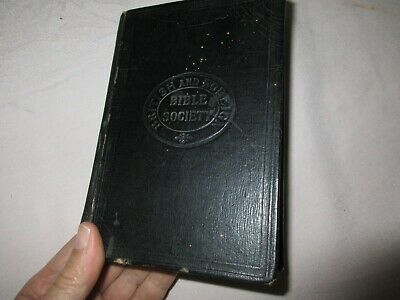 £14.20 • Buy Vintage HOLY BIBLE - British And Foreign Bible Society - Eyre & Spottiswoode