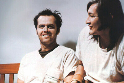 $ CDN35.07 • Buy One Flew Over The Cuckoo's Nest 24x36 Poster Jack Nicholson Will Sampson
