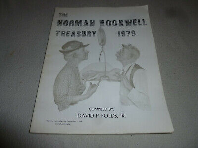 $ CDN51.02 • Buy Vintage The Norman Rockwell Treasury 1979 Book Signed David  Folds First Edition