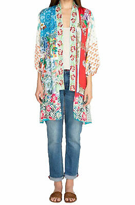 $199 • Buy Johnny Was Women's Kukui Kimono Multi
