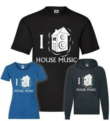 I Love House Music T-Shirt/Pullover/Hoodie • 28.07£
