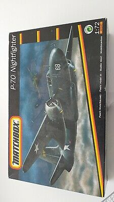 Matchbox P-70 Nightfighter Scale 1.72 Model Plane Kit Used Think All Pieces The • 5.50£
