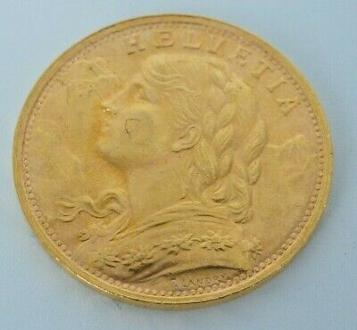 $385 • Buy 20 France Swiss Gold Coin- Helvetia