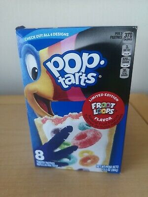 New Limited Edition Fruit Loops  Poptarts • 5.99£