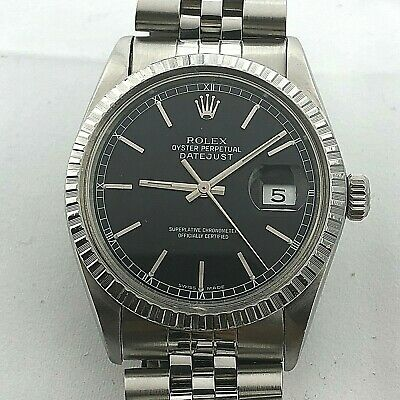 $ CDN5366.47 • Buy Rolex Datejust Ref 16014 Automatic Quick Set Date Circa 1985 Great Condition