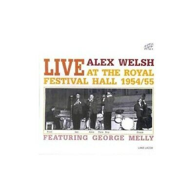 Alex Welsh - Live At The Royal Festival Hall - Alex Welsh CD JWVG The Cheap Fast • 3.49£