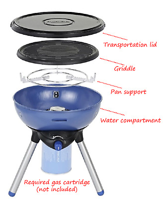 Campingaz Party Grill 200 Camping Gas Cartridge Portable Stove Barbecue BBQ • 69.99£