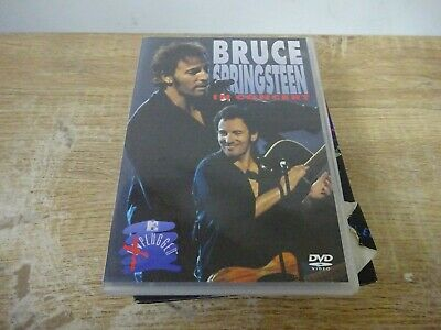 BRUCE SPRINGSTEEN In Concert Plugged DVD PAL FREE P&P • 3.65£