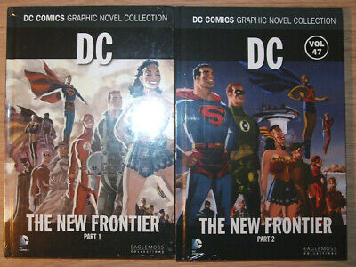 Eaglemoss/DC Comics Collection #46&47: DC- The New Frontier Parts 1&2 New&Sealed • 11.99£