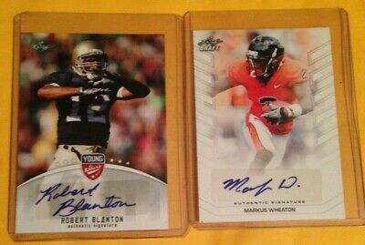 $ CDN9.99 • Buy Football Auto Card Lot Of 2