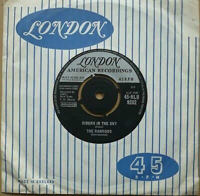 The Ramrods - Riders In The Sky  (7  Single, 1960)  • 1.50£
