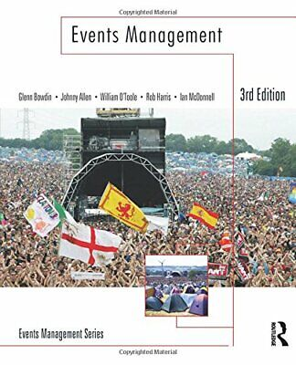 £47.85 • Buy Events Management.by Bowdin, A.J.  New 9781856178181 Fast Free Shipping.#