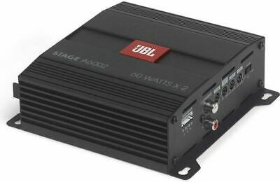 £101.30 • Buy JBL STAGEA6002AM 280W Stage Series 4 Ohm Stable 2-Channel Class-D Car Amplifier