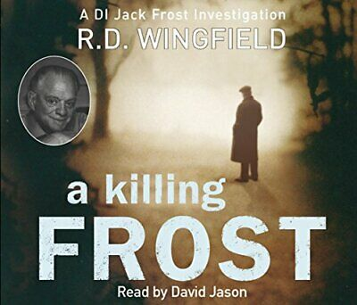 A Killing Frost: (Di Jack Frost Book 6) - Wingfield, R D CD 55VG The Cheap Fast • 3.95£