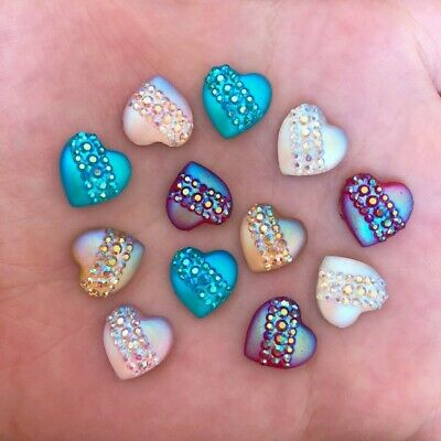 Sparkly Heart Shape Decorations For Craft,Card-making & Decoration Various  • 2.58£