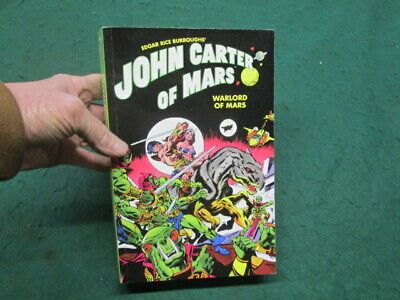 $29.95 • Buy Edgar Rice Burrough's John Carter Of Mars Warlord Of Mars Soft Cover 631 Pages