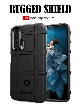 £13.46 • Buy For Huawei Honour 20 Case Rugged Shield Back Cover Rubber Protective Coke