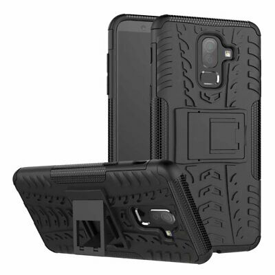 £13.86 • Buy For Huawei Honour 9i 2018 Case Rubber Anti-knock Heavy Duty Hybrid Protective