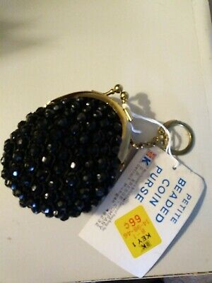 $8.99 • Buy Vintage Beaded Coin Purse