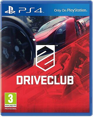 £10.85 • Buy Driveclub Playstation 4 PS4 Drive Club EXCELLENT Condition PS5 Compatible