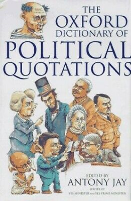 £3.49 • Buy Oxford Dictionary Of Political Quotations Hardback Book The Cheap Fast Free Post