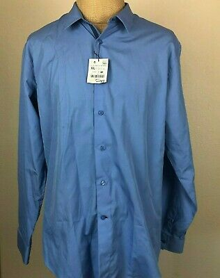 $34.99 • Buy New Zara Man Blue Dress Shirt Size XXL