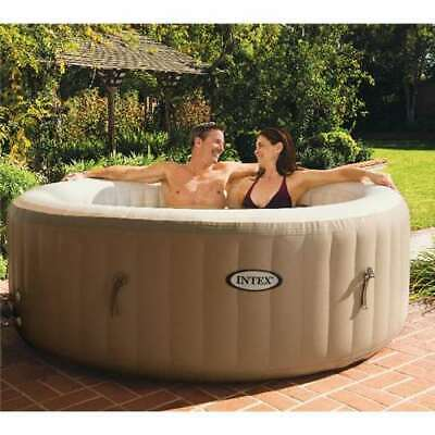 $710.45 • Buy Intex Pure Spa 4-Person Inflatable Portable Heated Bubble Hot Tub (Open Box)