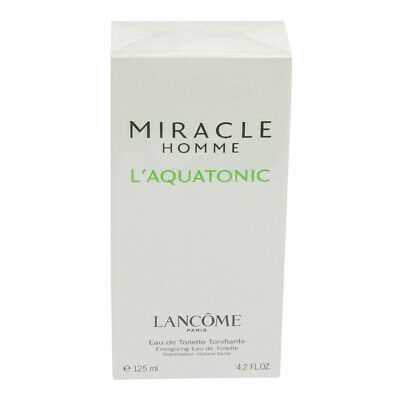 Miracle Homme L'Aquatonic Lancome 125 Ml Eau De Toilette Spray • 115.56£