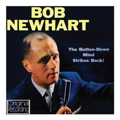 Bob Newhart : The Button-down Mind Srikes Back! CD (2012) FREE Shipping, Save £s • 3.48£