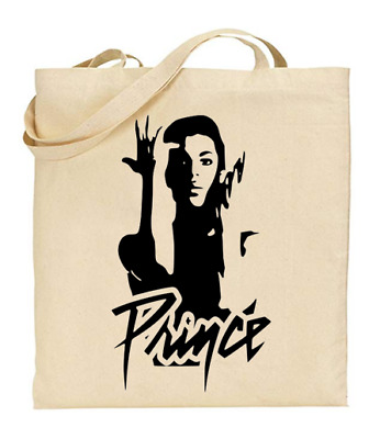£6.49 • Buy Shopper Tote Bag Cotton Canvas Cool Icon Stars Prince Ideal Gift Present