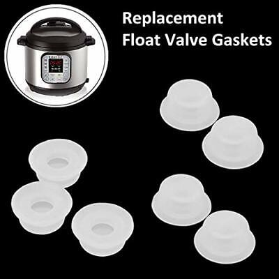 $10.30 • Buy Replacement Float Valve Gaskets Caps For Instant Pot Duo 3 5 6 8 Quart Ultra New