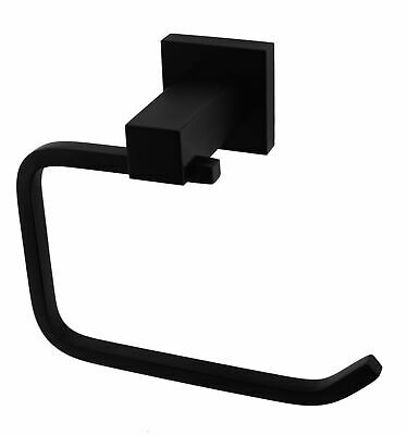 AU68.95 • Buy NEW Classic Toilet Paper Holder Electroplated Matte Black Finish
