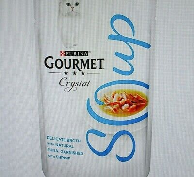 Purina ' Gourmet Gold Soup Collection ' X 32 • 34.99£