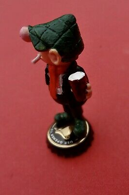 Vintage Andy Capp  Figure GUINNESS  Schleich ULTRA. RARE GUINNESS TOP • 12£
