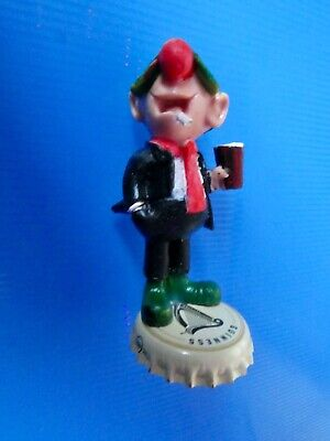 Vintage Andy Capp  Figure GUINNESS  Schleich  ULTRA. RARE GUINNESS TOP IN CREAM • 12£
