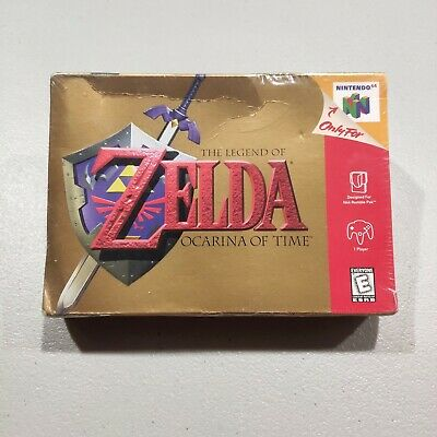 $353.52 • Buy The Legend Of Zelda: Ocarina Of Time - Nintendo 64 N64 New Factory Sealed NIB