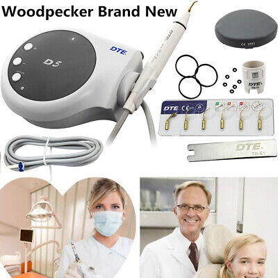 $159.59 • Buy 100%Woodpecker Woodpecker D5 Dental Ultrasonic Piezo Scaler Black Teeth Cleaner