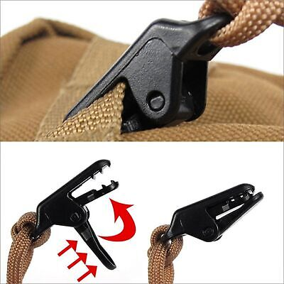 10 Pcs Tent Awning Canopy Clip Tarp Canvas Clamp Clip Snap Anchor Gripper Tool  • 3.99£