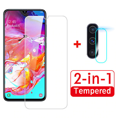 £3.44 • Buy For Samsung Galaxy A71 A50 2 In 1 Screen Protector Camera Lens 9H Glass Covers