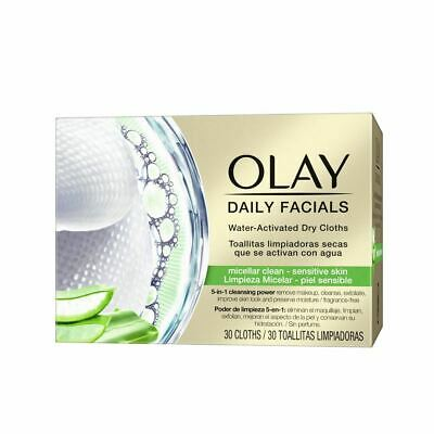 AU19.29 • Buy Olay Cleanse Daily Facials Micellar Toallitas Secas Ps 30pcs Women