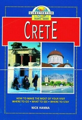 Crete (Globetrotter Travel Guide) By Hanna, Nick Paperback Book The Cheap Fast • 4.49£