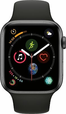$ CDN451.21 • Buy Apple Watch Series 4 44MM Stainless Steel Case GPS + Cellular With Sport Band