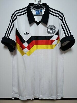 Size L Germany Retro Replica 1988-1990 Home Football Shirt Jersey • 85£