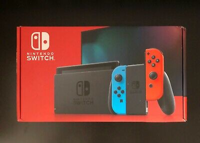 $ CDN600 • Buy Nintendo Switch Console With Neon Red/blue Joy-con