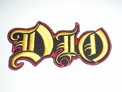 $5.99 • Buy Dio Logo Iron On Embroidered Patch