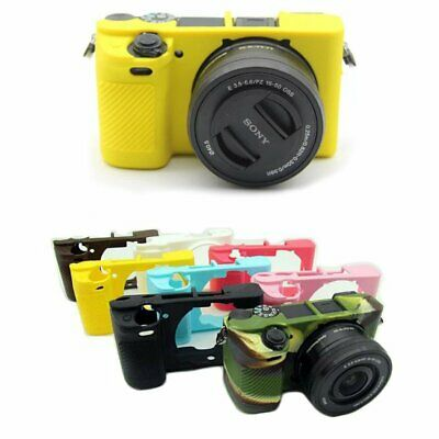 $ CDN17.95 • Buy Soft Silicone Protective Body Armor Cover Case Skin For Sony A6300 A6400 Camera