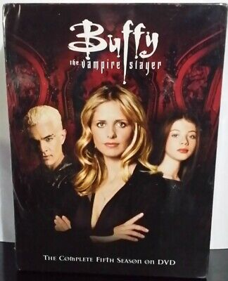 $46.94 • Buy Buffy The Vampire Slayer - Season 5 (DVD, 6-Disc Set) Factory Sealed
