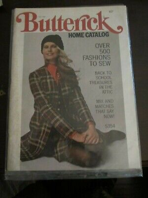 $19.99 • Buy Butterick Pattern Book Fall 1969 Back To School Treasures (G)