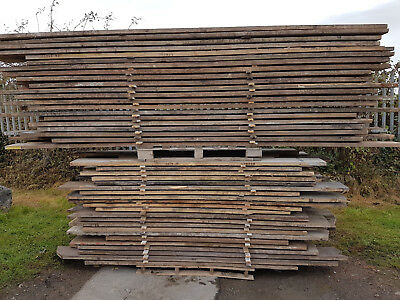 £7 • Buy Reclaimed Used Scaffold Boards / Planks / Timber 1.2m 1.5m 1.8m And 3.9m