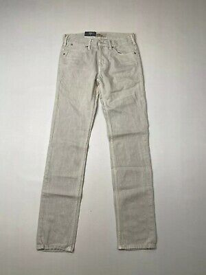 LEVI 519 SKINNY Jeans - W28 L32 - Light Grey - New With Tags - Men's • 49.99£